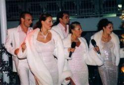Auftakt zu White Night Partys bis in die Morgenstunden auf der AIDAblu