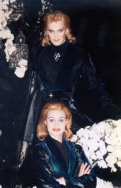 Elisabeth (Wien) als Der Tod mit Virgeni Koop